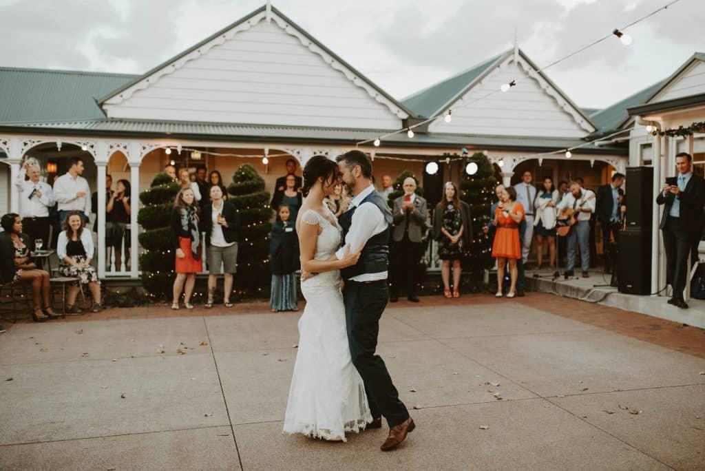 Abbeville Estate wedding first dance
